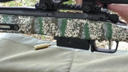 克里德摩尔精密步枪,射击时是不是看到弹道轨迹了?