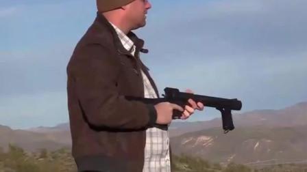 榴弹枪有这种威力的还是头一次见!你见过吗?