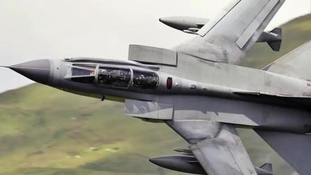 龙卷风GR4退役前的倒数飞行,在英国的一代功臣落下帷幕!