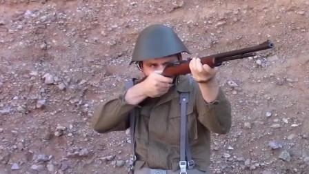 马林M60半自动步枪,枪声感觉没有鞭炮声大!没意思!