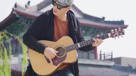 指弹吉他火影忍者经典插曲《青鸟》,让人热血沸腾的曲子