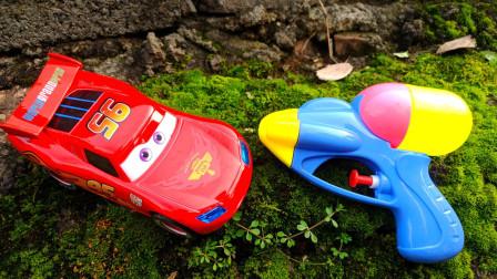 汽车总动员玩具车和神奇变身玩具枪