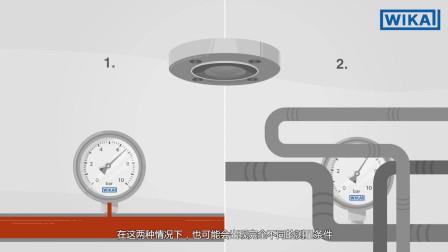 威卡中国:隔膜密封件如何工作?| 压力测量的应用领域和优势(中文中字)