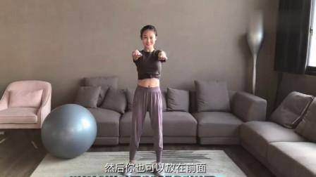 健身博主亲自指导【3个瘦腰有效动作】,让瘦腰变得更简单