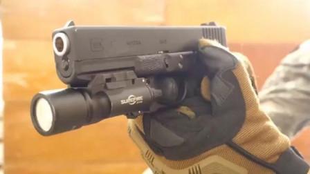 玩具版Glock17手枪,BB弹供弹射击实测