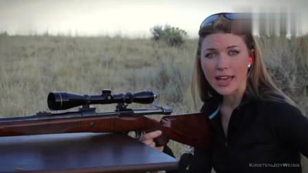 外国美女依次介绍这些关于枪的操作,你都听懂了吗?