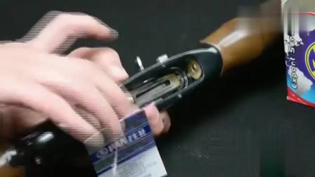 吊牌都没撕的WP5霰弹枪新枪上弹,让人耳目一新,你应该没见过!