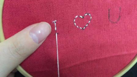欧式刺绣之字母的3种绣法,简单的针法也能绣出好看的字母,赶快收藏起来吧!