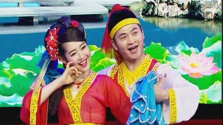 二人转界的金童玉女表演《西厢幽会》,表演到位,唱功高超!