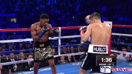 拳击比赛:戈洛夫金VS雅各布斯,两人真的都太强悍,来看看吧