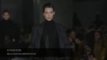 世界超模Bella Hadid(贝拉·哈迪德)2019秋冬世界秀场走秀集锦