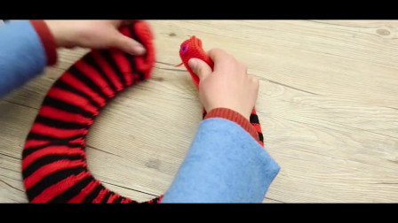 编织达人教大家编织马桶套,放家里能用很久,冬天有它太暖和了