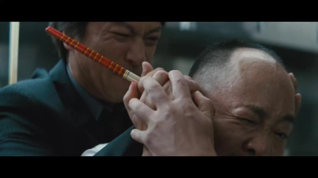这才是北野武黑帮片,小弟去中华餐厅找老板,直接拿筷子掏耳朵