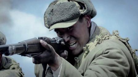 难得一见志愿军与合作拼刺刀的热血战斗,短兵相接惊心动魄-三八线