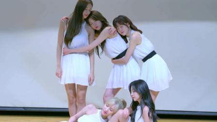 五位韩国白衣小天使调皮又可爱舞蹈精彩绝伦