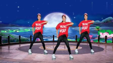 广场舞《DJ狂浪》时尚动感,酷酷的舞蹈,网上可火了