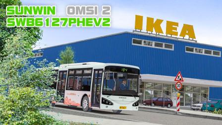 巴士模拟2-申夭客车 #4:宁波公交蜜瓜装 最高分线路试跑 | OMSI 2 Ruhrau2.0 184(1/2)