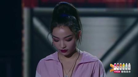 美女虽被淘汰,但全场却为她欢呼打气,潘玮柏不舍直接泪目!