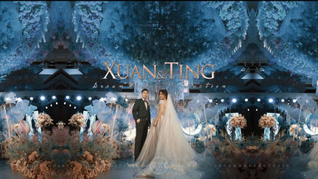 逐梦智造出品:Xuan+Ting绿城喜来登婚礼集锦