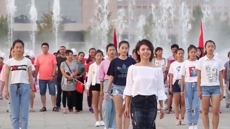 山东临淄群众欢歌笑语,祝福伟大祖国繁荣昌盛
