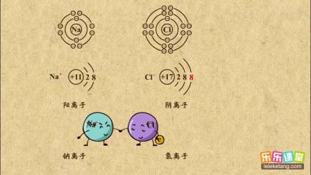 初中化学九年级上册 离子的定义及分类