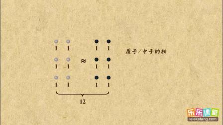 初中化学九年级上册 相对原子质量、质子数、中子数之间的关系