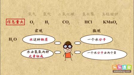 初中化学九年级上册 化学式的意义