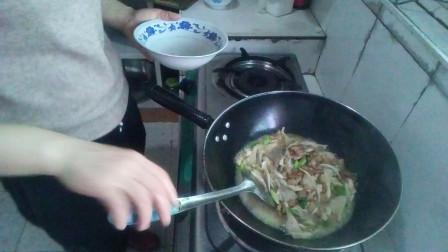 平菇的做法大全 肉片炒平菇的做法