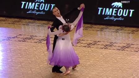 2019.3.16 WDSF 罗马尼亚21岁标准舞决赛