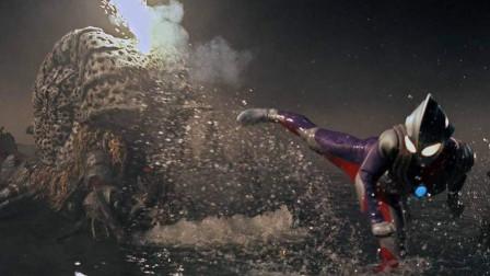 奥特曼格斗进化3黑暗的支配者另一种打法:普通迪迦击败加坦杰厄