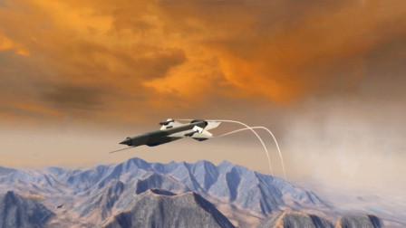 三维动画模拟战机空战,敌方火力太强,还好有个神一样的战友!