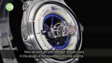 停在手腕上的太空站,来看看价值200万的深空九号三轴陀飞轮腕表长什么样?