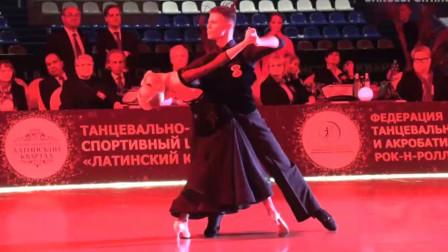 2019.2.24 莫斯科 迪马&奥尔嘉标准舞表演 Dmitry & Olga