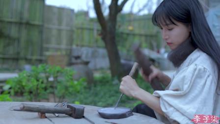 李子柒这是一张沉淀千年历史的文化名片,述尽中华风流——笔墨纸砚