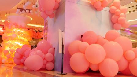 吾悦广场气球春季美陈