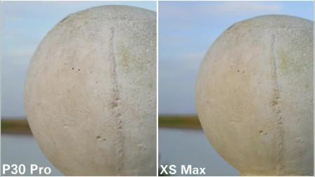 50倍变焦?相机对比,华为P30 Pro VS iPhone XS Max
