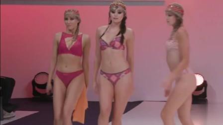 纽约春夏时装周Unique全新内衣发布会走秀,模特个个打扮的都很精致!