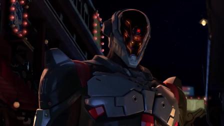 双月之城纳米机器人出场,秒杀狂暴歹徒