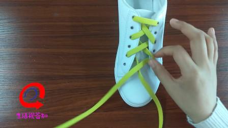 非常实用的一种鞋带系法,更适合男生的穿法,让你的小白鞋更加时尚潮流