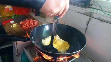 西红柿炒鸡蛋的做法男人版
