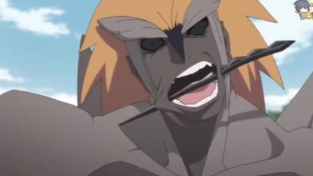 火影忍者——博人传:木叶丸用螺旋丸击飞重吾后要躺几天,咒印敌人出现!