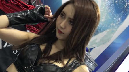 超级美女车模:东京丰满美女现场秀,看了还想看