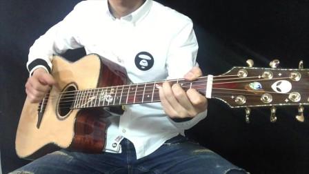 亚伯拉罕星语心愿全单吉他评测音色试听 靠谱吉他蔡宁