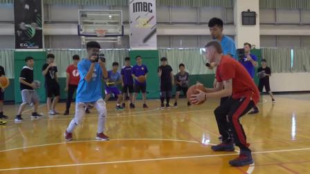 街球Professor 在台湾一对一街球单挑!