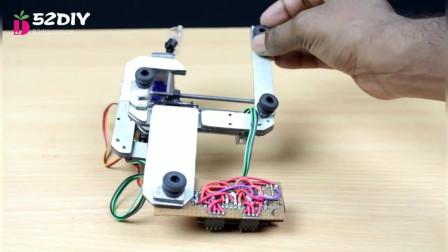 科技DIY光驱打造便携写字机