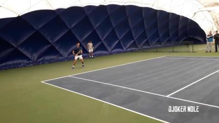 德约科维奇2019网球室内训练视频