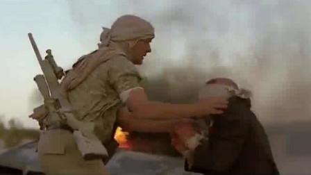 神枪狙击手只身设陷阱狙杀极端分子救人质