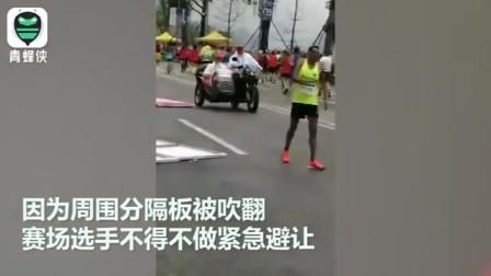 """直升机直播马拉松赛事飞行过低!这一状况让选手""""很受伤"""""""