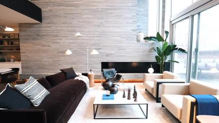 625万美金的曼哈顿精致三层现代公寓,这简直就是享受