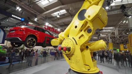 汉诺威工业展上的机器人,未来真是机器人的天下啊